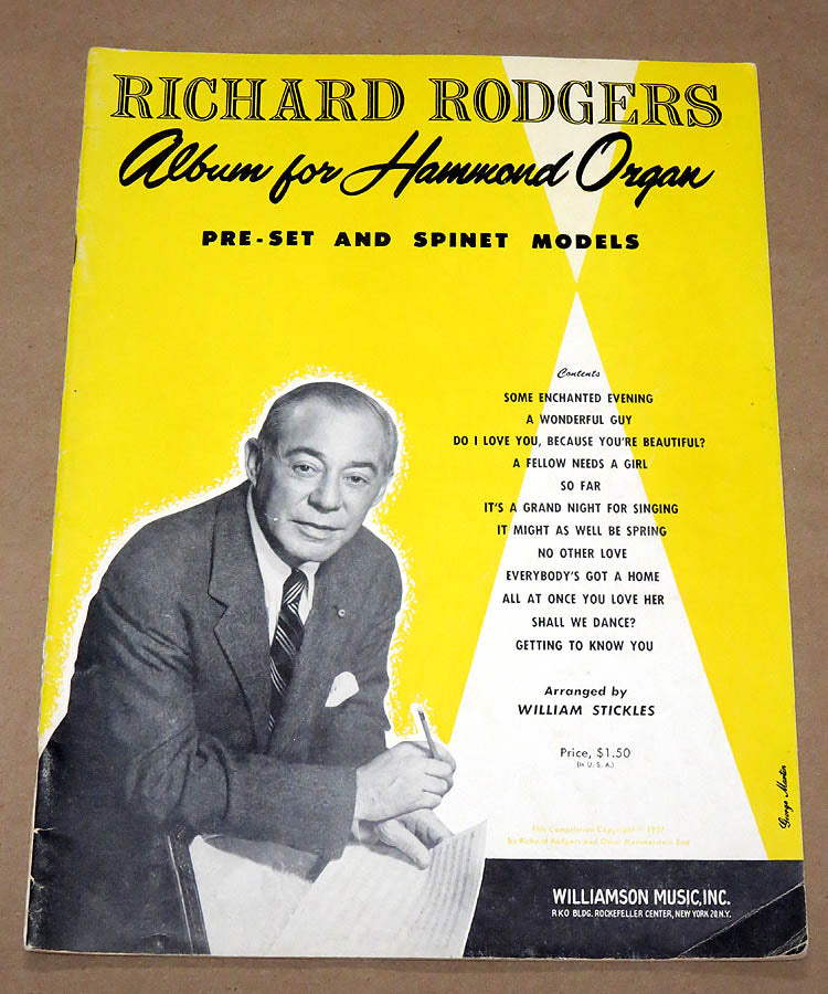 Richard Rodgers Album for the Hammond Organ