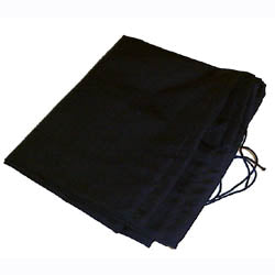Cloth scrim cover for Leslie Speaker lower rotor