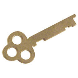 Locking Key for Hammond Organ C, D, RT models