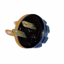 Amphenol 2-pin AC plug panel mount for Hammond Organ