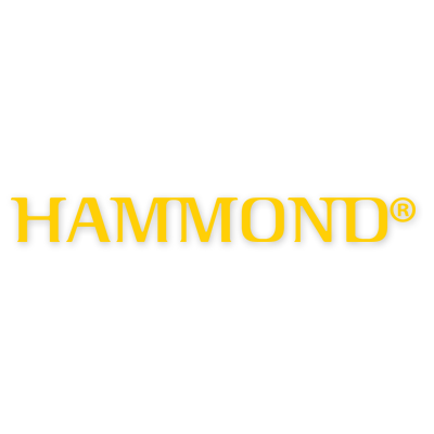 "Hammond Organ 6"" Die-Cut Logo Decal"