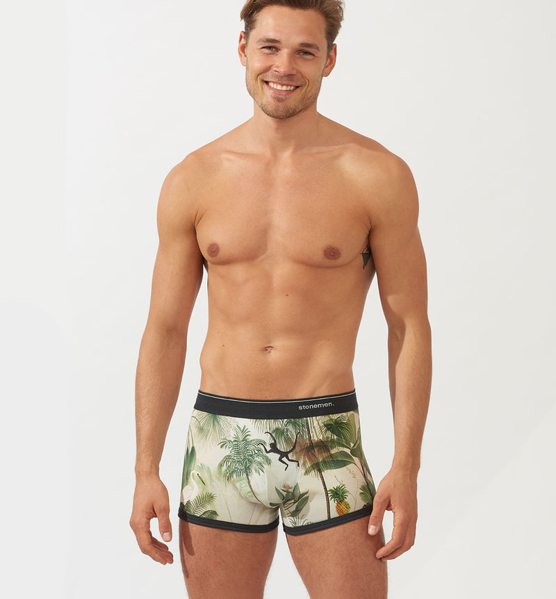 Mens printed underwear