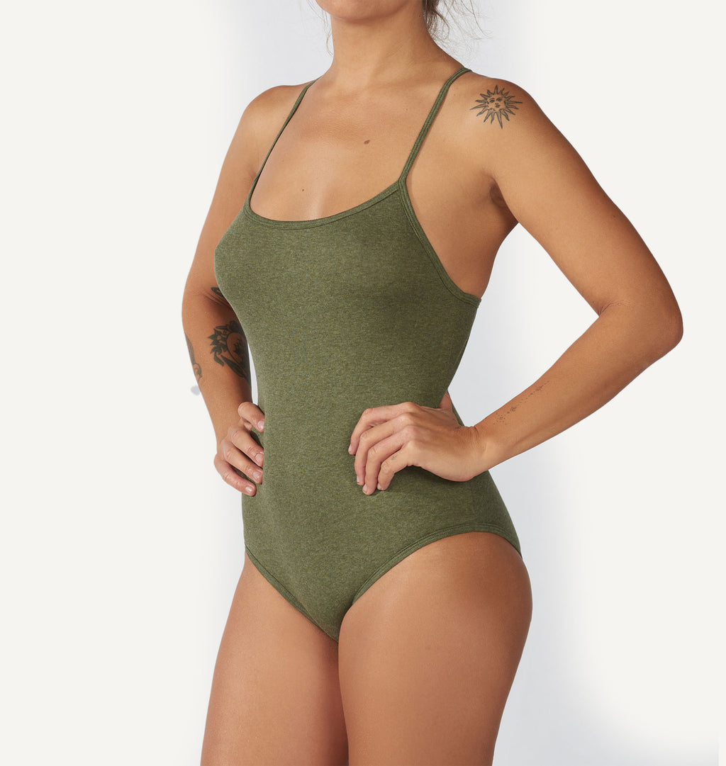 Bodysuit  /  Essentials  /  Moss Green