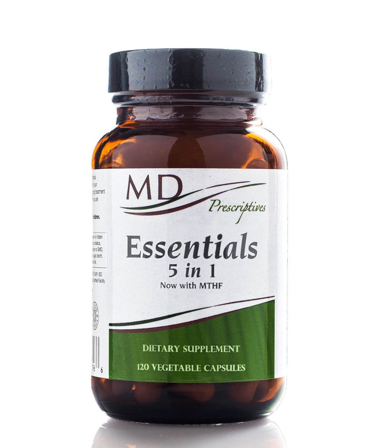 Essentials 5 in 1 Multivitamin 120 vcaps