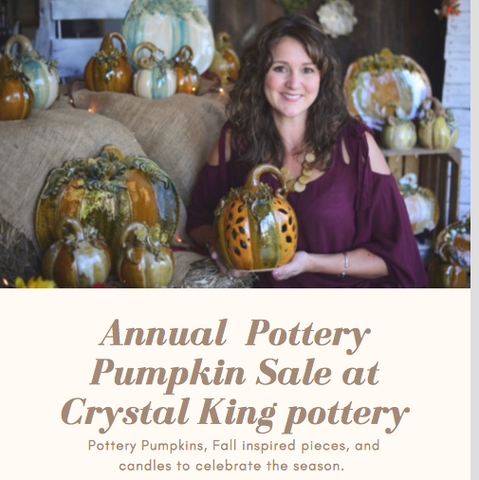 Pottery Pumpkin Patch in October