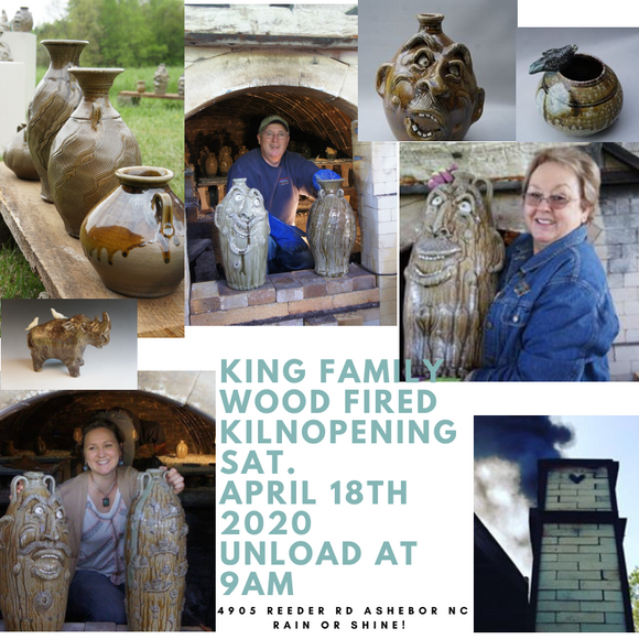 Kings Family Wood Fired Kiln Opening In Seagrove Nc