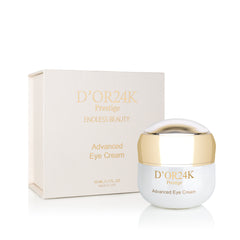 D'OR24k Eye Cream & Serum Set