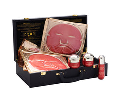 Dermatox Collection with 18-in-1 Red Caviar Anti-Aging Face & Eye Mask Set