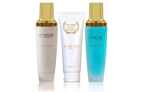 24k Milk, Toner & Cleanser Set