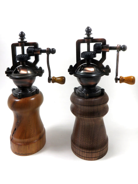 Salt & pepper mill sets & individuals