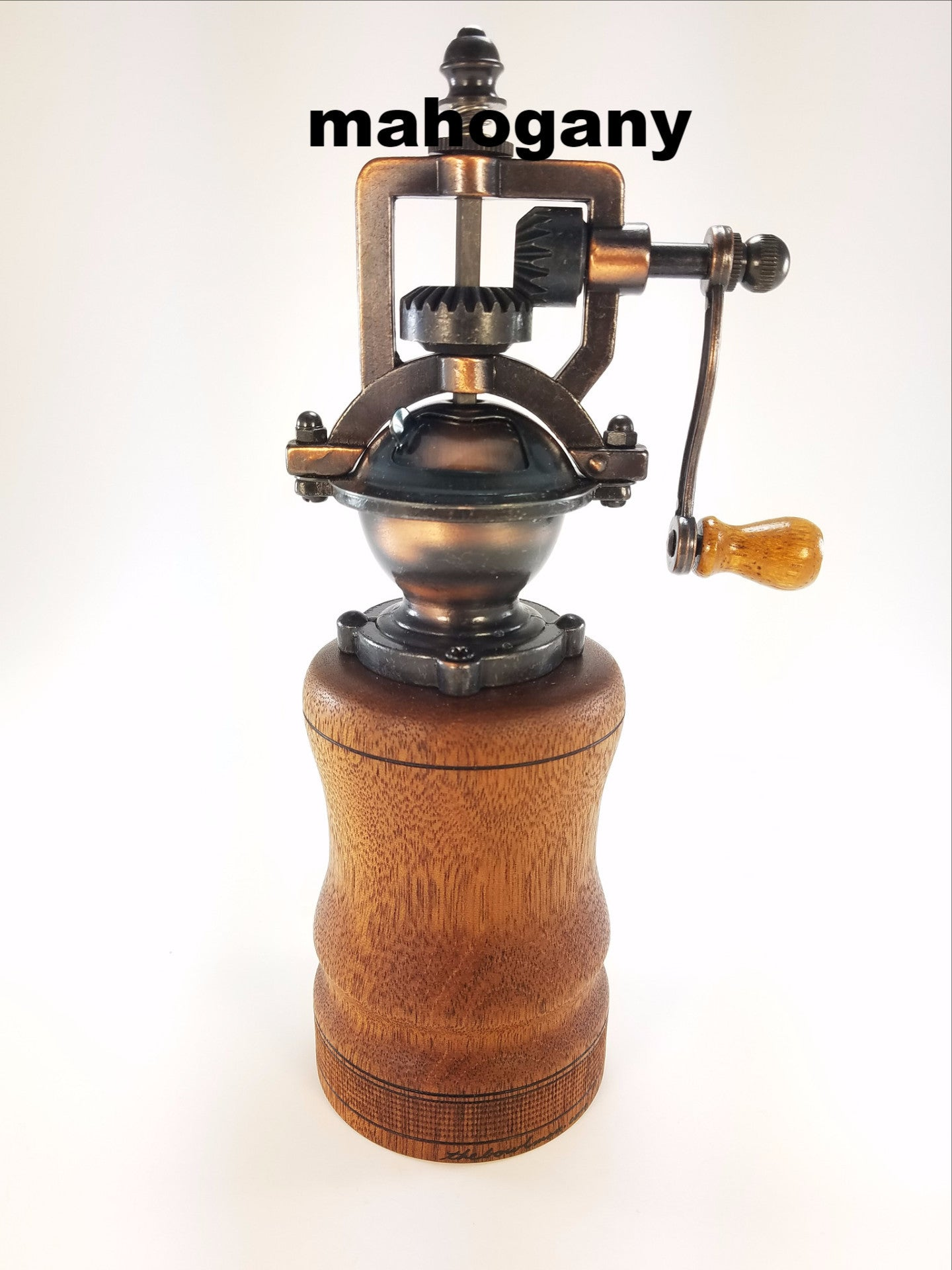 Antique peppermills