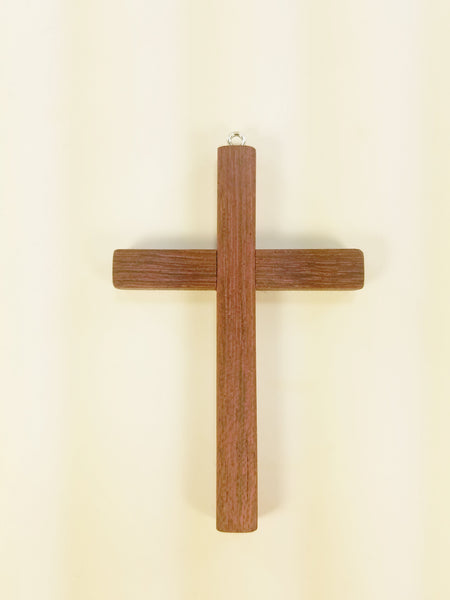 wooden cross / ornament / charm