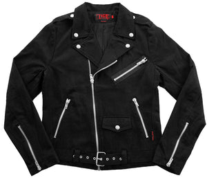 Men's Cotton Biker Jacket (made by Tripp NYC)