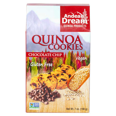 Andean Dream, Galletas de Quinoa, con Choco Chips, Sin Gluten, 198 g