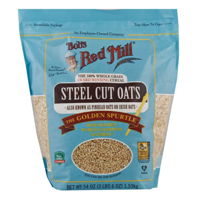 Bob Red Mill, Avena Corte Acero, 1.53 kg