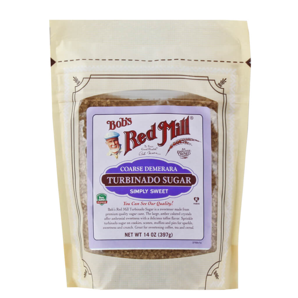 Bob's Red Mill, Azúcar Turbinado, 397g