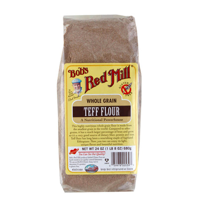 Bob's Red Mill, Harina de Teff, Grano Integral, 680 g