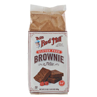 Bob's Red Mill, Harina para Brownie, Sin Gluten, 595 g