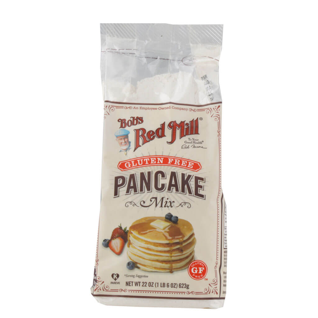 Bob's Red Mill, Harina para Hot Cakes, Sin Gluten, 623g