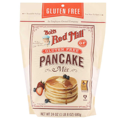 Bob's Red Mill, Harina para Hot Cakes, Sin Gluten, 680g