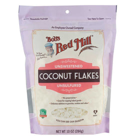 Bob's Red Mill, Hojuelas de Coco, No endulzado, 284g