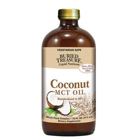 Buried Treasure, Aceite MCT de Coco, 473 ml