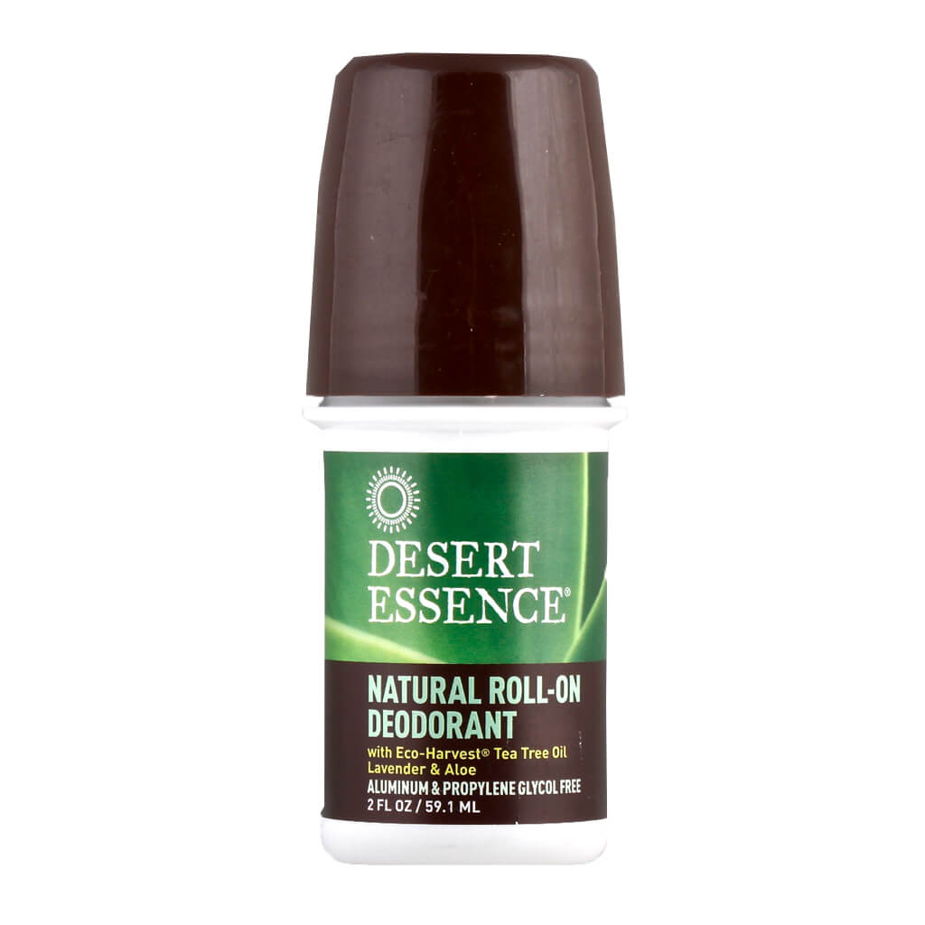 Desert Essence, Desodorante Natural en Roll-On, 60 ml