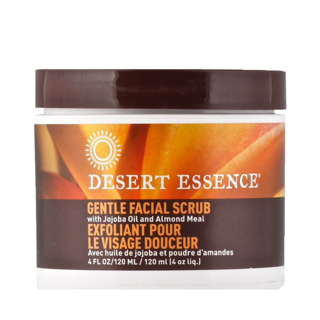 Desert Essence, Exfoliante Facial Suave, 120 ml