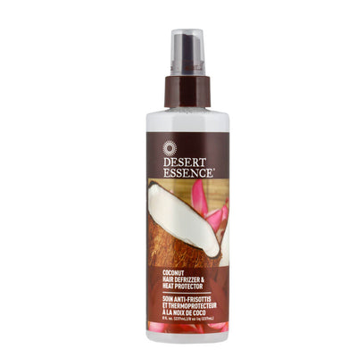 Desert Essence, Protector para el Cabello, Anti-Frizz de Coco, 237ml