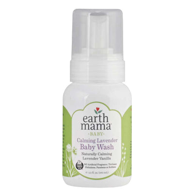 Earth Mama, Angel Baby, Shampoo y Gel de Baño, Lavanda Calmante, 160 ml