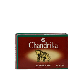 Herbal, Vedic, Chandrika, Jabón en Barra Sándalo, 75 g