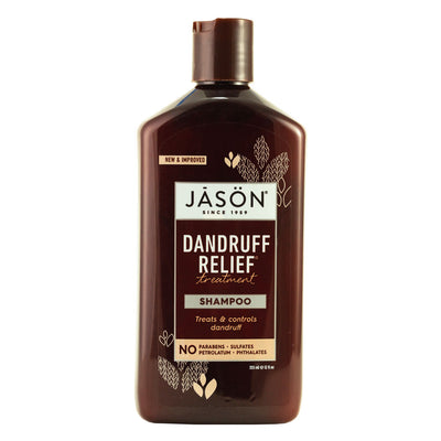 Jason Natural, Shampoo Anticaspa, 355 ml