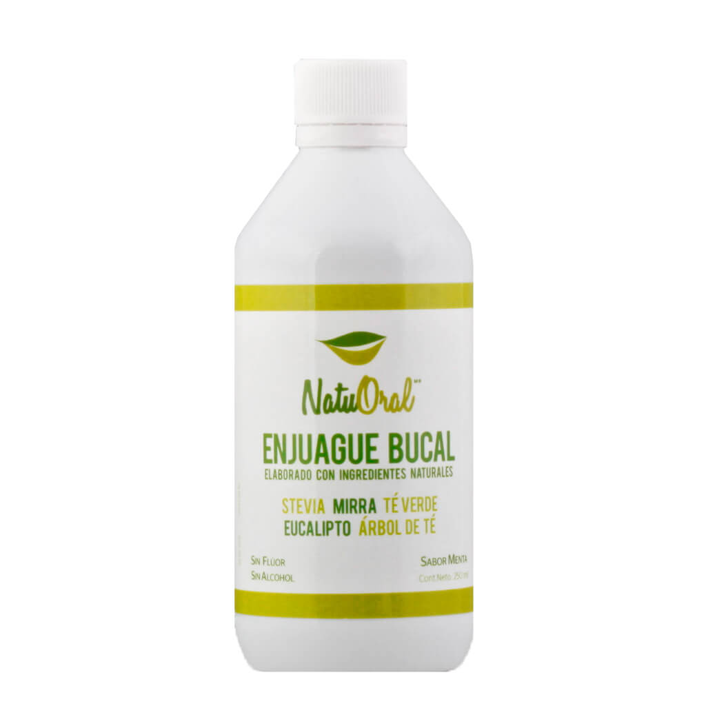 NatuOral, Enjuague Bucal, 250ml