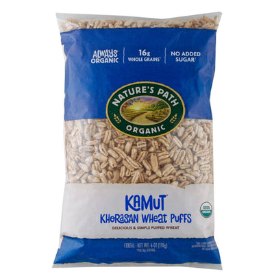 Nature's Path, Cereal Inflado, Kamut, Orgánico, 170g