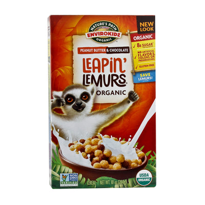 Nature's Path, Cereal de Crema de Cacahuate y Chocolate, Orgánico, 284g