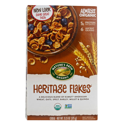 Nature's Path, Cereal de Hojuelas, Orgánico, 375 g