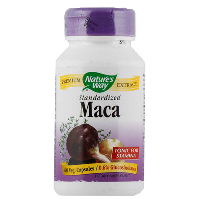 Nature's Way, Maca, Estandarizada, 60 cápsulas