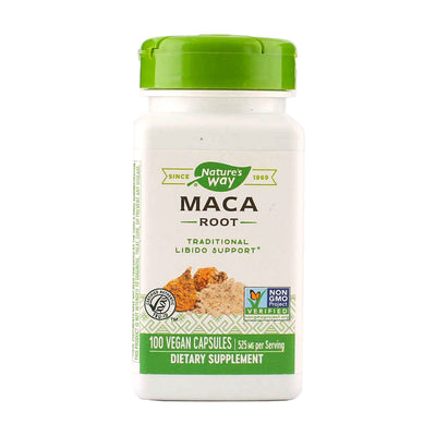 Nature's Way, Raíz de Maca, en cápsulas, 100 cap/525 mg