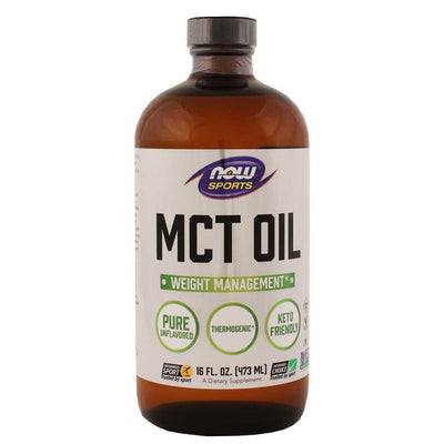 Now, Aceite de MCT Puro, 473ml