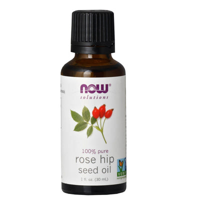 Now, Aceite de Semilla de Rosa Mosqueta, 100%  puro y natural, 30 ml