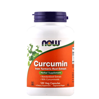 Now, Curcumina, en cápsulas 120 Cap/665mg