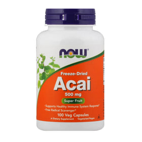 Now, Acai, en cápsulas, 100 cap/500mg