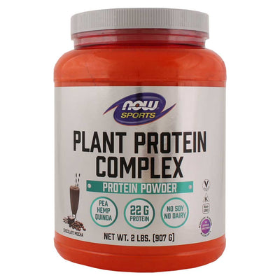 Now, Proteína Vegetal, Chocolate Mocha, 907g