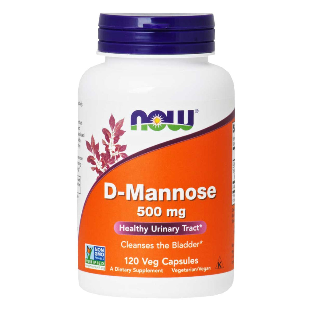 Now, D-Manosa en Cápsulas, 120cap/500mg