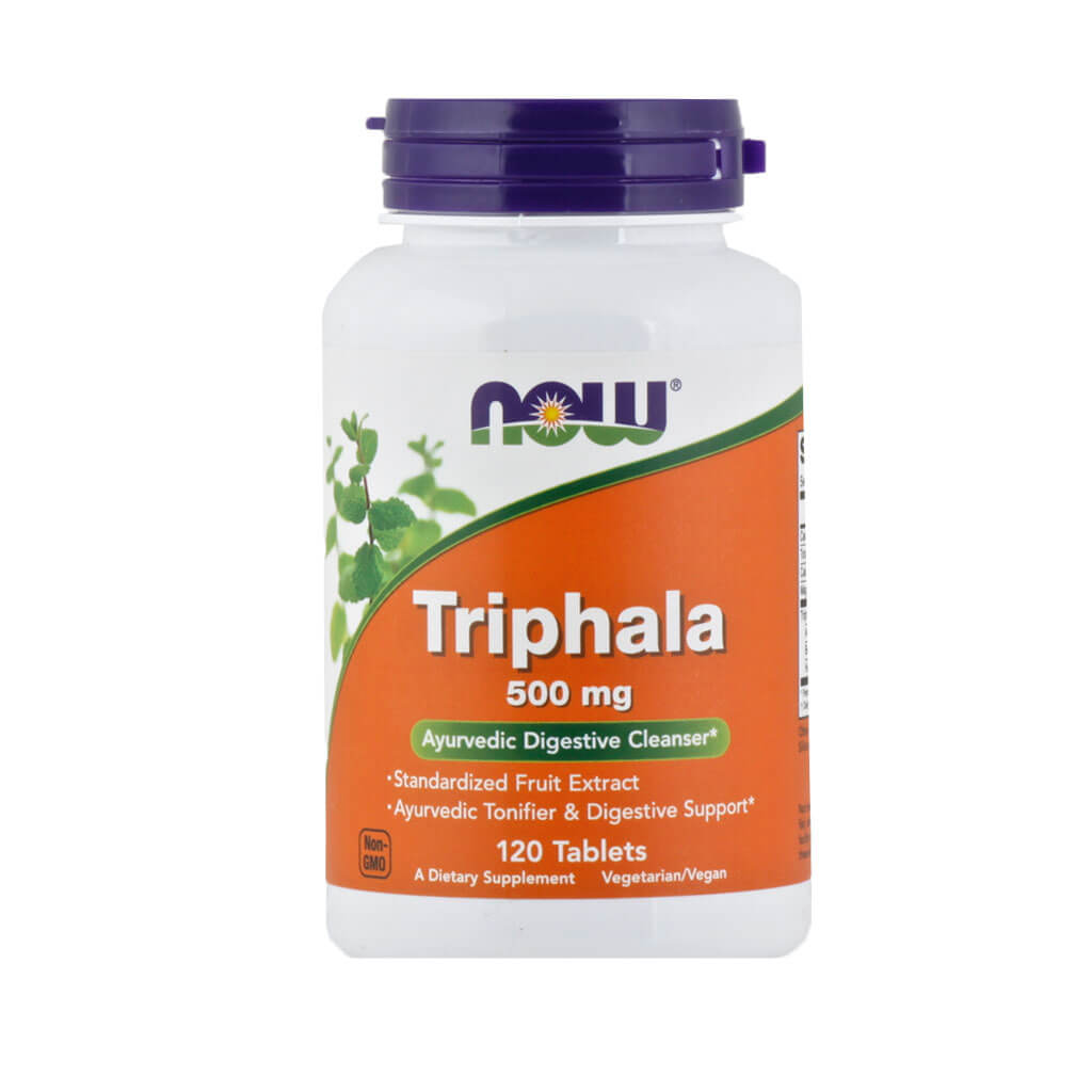 Now, Triphala, en cápsulas, 120cap/500mg