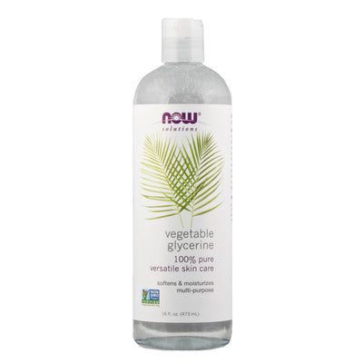 Now, Glicerina Vegetal, 473 ml