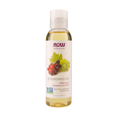 Now, Aceite de Semilla de Uva, 118 ml