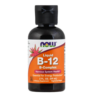 Now, B-12 Líquida, Complejo B, 59ml
