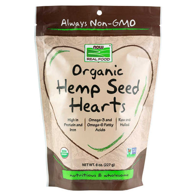Now, Semillas de Hemp, Orgánicas, 227 g