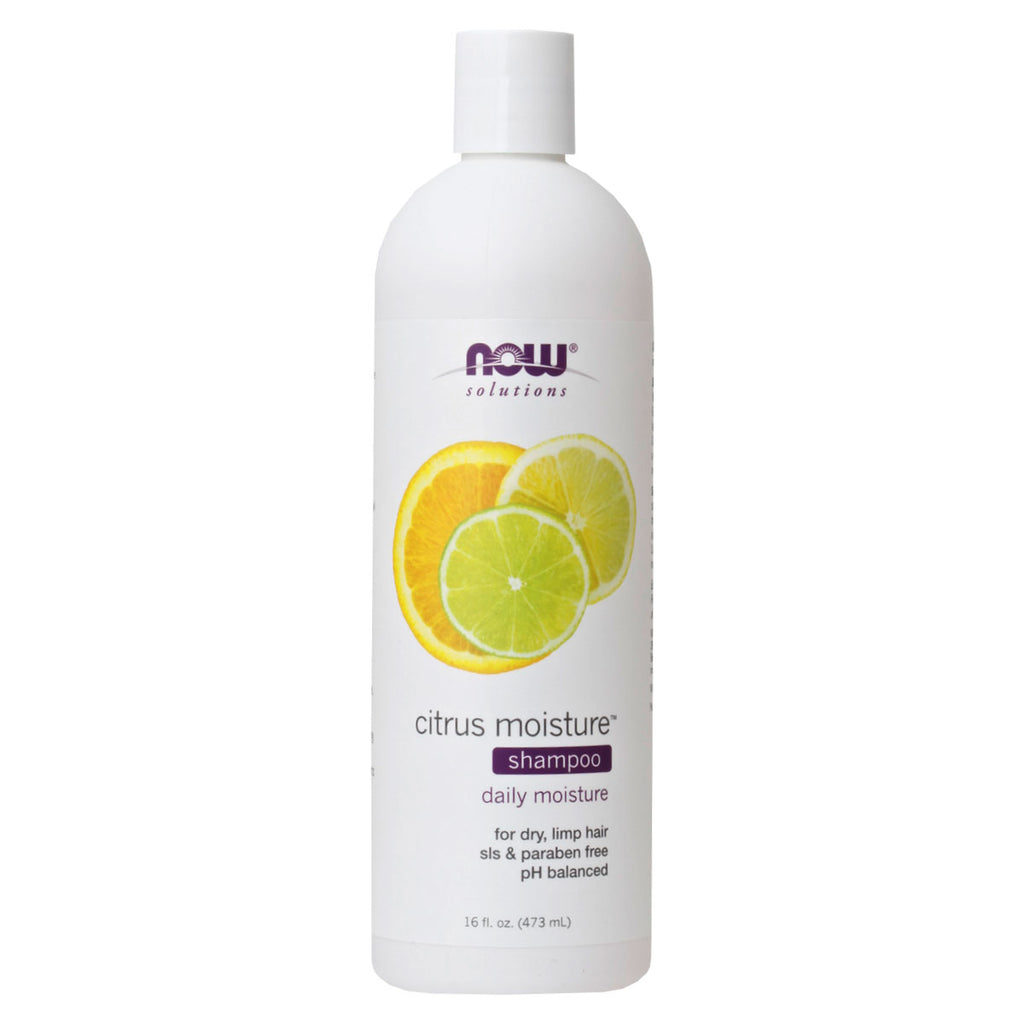 Now, Shampoo Humectante Citrus, 473ml